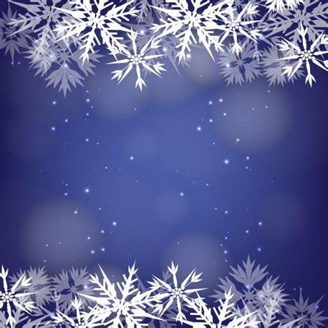 scarica cornice per foto gratis cornice fiocchi di neve su uno sfondo bokeh