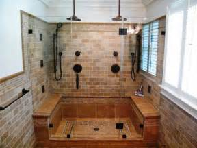 Walk in tile showers ideas with walk in showers for small bathrooms
