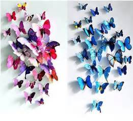 3d butterfly wall stickers as low as 3 86 ftm 12pcs 3d butterfly sticker art decal wall stickers home