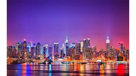 city lights new york city 4k wallpaper free 4k wallpaper