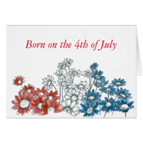 Happy Birthday 4th July Cards July 4th Birthday Greeting Cards Zazzle