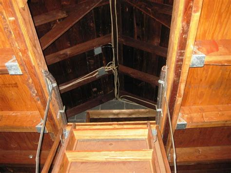 Retractable Attic Stairs Be Installed Correctly to Be Safe