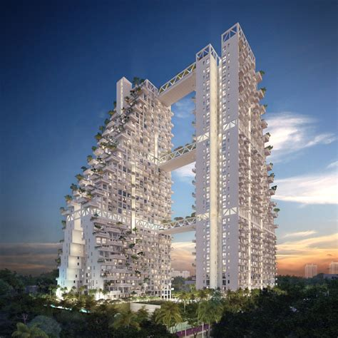 designboom singapore condominium at bishan central moshe safdie the superslice