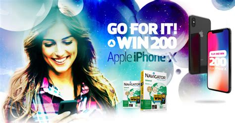 Win An Iphone On Thisnext by Navigator Paper Iphone X Giveaway 2018