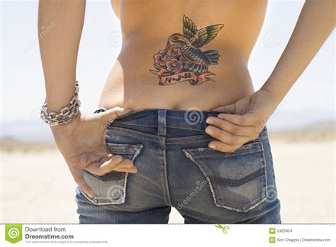 xs tattoo prices tattoo and derriere stock photo image of color female