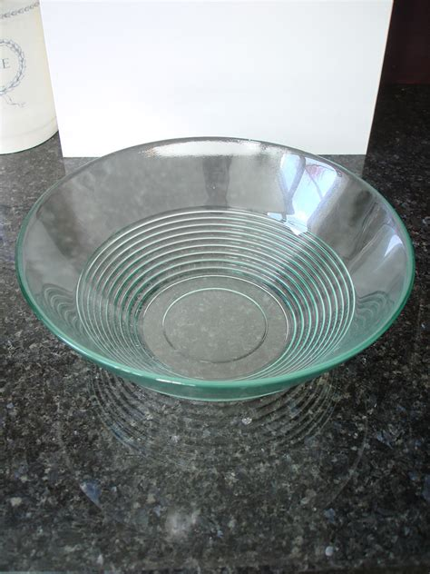 recycled glass hurricane ls recycled glass bowl large 25cm natural simplicity