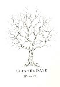 Fingerprint Guestbook Tree Template by 17 Best Ideas About Wedding Fingerprint Tree On