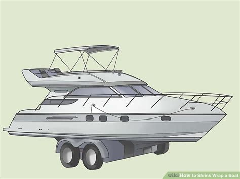 used boat shrink wrap gun how to shrink wrap a boat 8 steps with pictures wikihow
