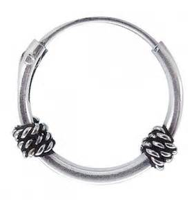 boucle d oreille argent anneau bijoux