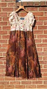 sale upcycled clothing shabby chic peasant leopard print maxi
