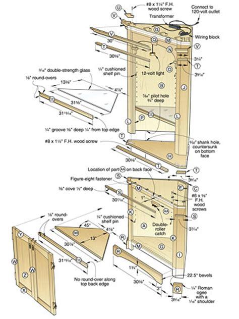 PDF DIY Corner Display Case Plans Download woodworkingbenchplans ? diywoodplans