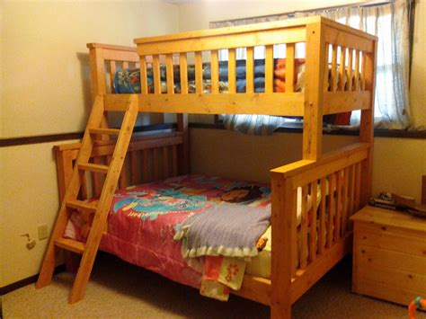 bunk bed queen download extra long twin over queen bunk bed plans pdf