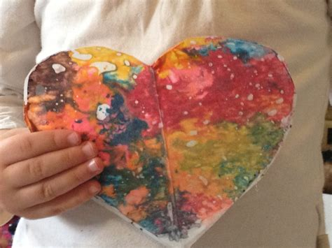 Wax Paper Crayon Craft - wax paper crayon decorations my kid craft