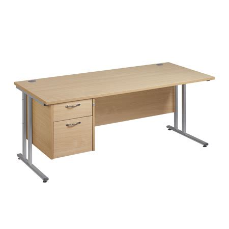 silver desk with drawers office desk with drawers with silver or white legs