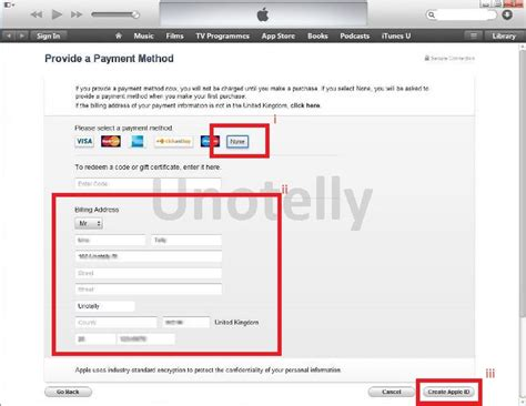 make an apple account without credit card how to create itunes apple id account without credit