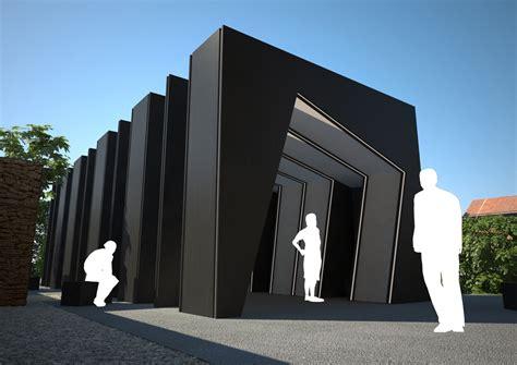 Wooden Tent gallery of temporary art pavillion 4f k 10