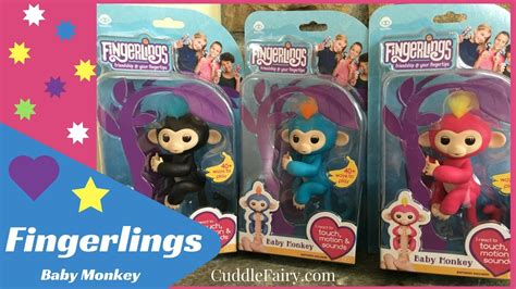Fingerlings Baby Monkey fingerlings baby monkey toys unboxing review