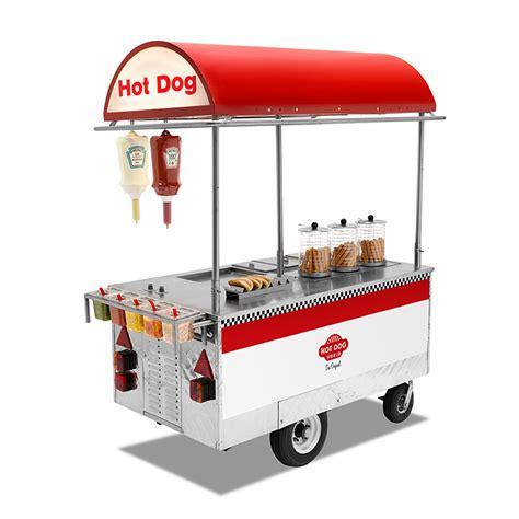 Auto Mieten New York by New York Hot Dog Wagen Hot Dog World