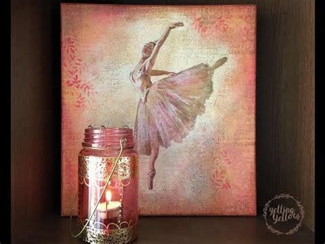 Decoupage On Canvas - decoupage tutorial image transfer on canvas