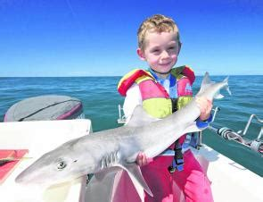 Reel Sure Cath 6000 fishing monthly magazines shining the light on gippsland