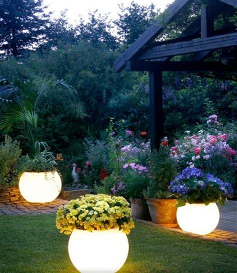 diy glow in the outdoor planters homestead survival