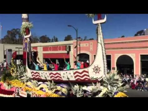 2016 rose bowl parade floats 2016 rose bowl parade china airlines float youtube