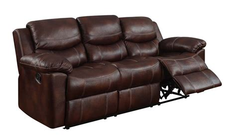 Global Furniture Usa 2128 Reclining Sofa Set Printed Microfiber Reclining Sofa Sets