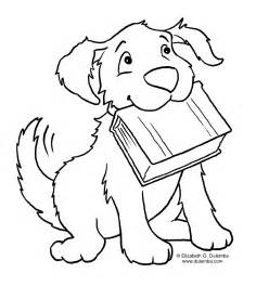 coloring dog coloring pages kids