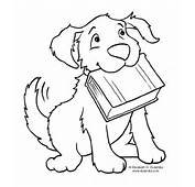 Cute Dog Coloring Pages  Free Printable Pictures