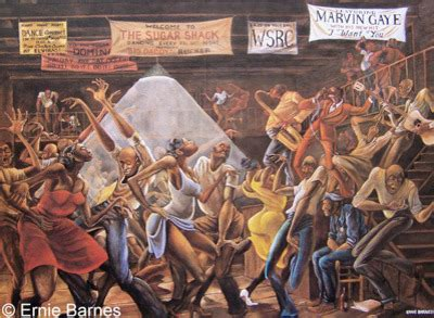 good house music artists artist of famous good times painting dies ernie barnes