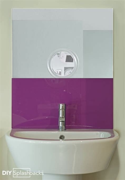 bathroom glass splashback ideas bathroom glass splashbacks ideas