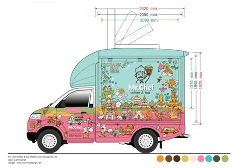 american food truck design co bkk mr chef at chiang rai food truck design for thai local