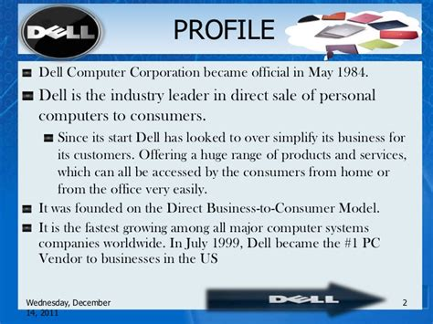 PPT On Dell