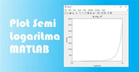 cara membuat grafik fungsi logaritma di excel cara membuat grafik semi logaritma pada matlab advernesia