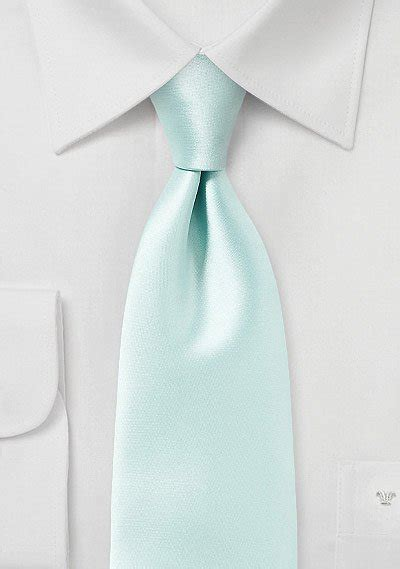 Dasi Blue Mint Tie pale mint green solid colored tie bows n ties