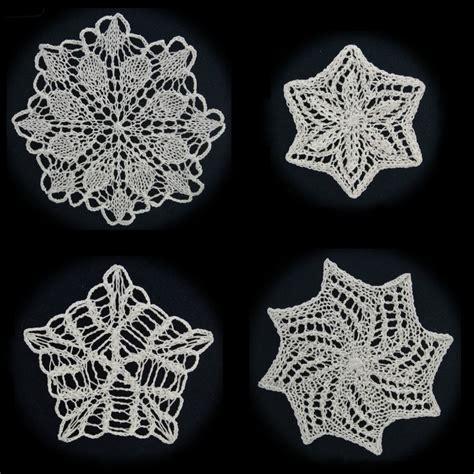 snowflake pattern to knit more knit snowflakes pattern pdf