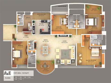 amazing 3d home plans 12 floor plan 3d design software