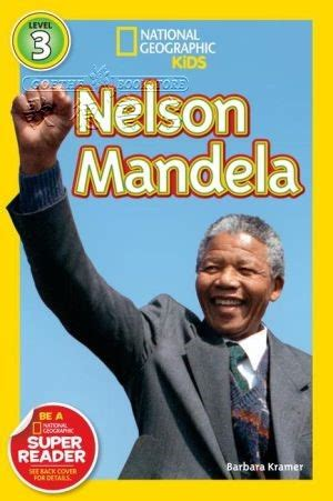 national geographic kids national geographic readers nelson mandela 全新正版產品 歌德英文書店