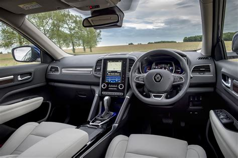 renault interior renault koleos suv review parkers