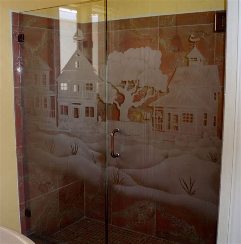 Custom Made Glass Shower Doors Made Custom Shower Door And Panel By La Mancha Glass Gardens Custommade