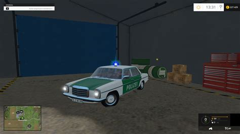 Minichs Mercedes 200 Polizei mercedes w115 200d polizei
