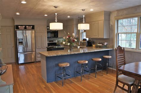 Sloan Paint On Kitchen Cabinets by Island Painted In Sloan Paint Graphite By