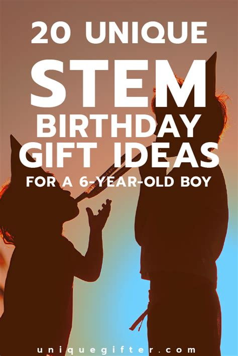 gift ideas for 6 year boys 20 stem birthday gift ideas for a 6 year boy unique