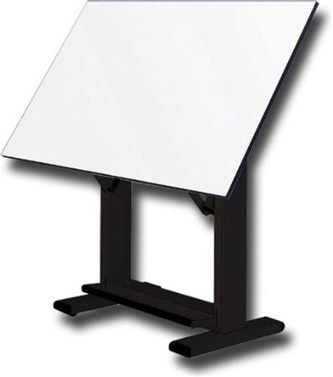 Alvin Elite Drafting Table Alvin Et72 3 Elite Drafting Table Black Base With 37 5 Quot X72 Quot Top Angle Adjusts From 0 To 85