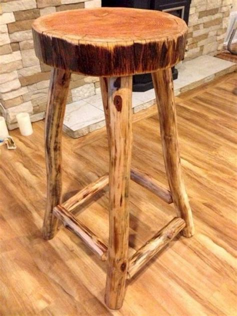 Turn Chair Into Bar Stool by Turn Tree Stumps And Logs Into Unique Chairs Stools Log