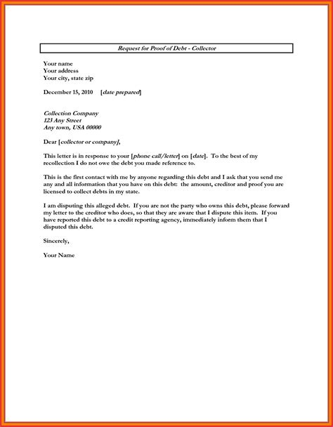 debt collector cover letter 28 images how to write a