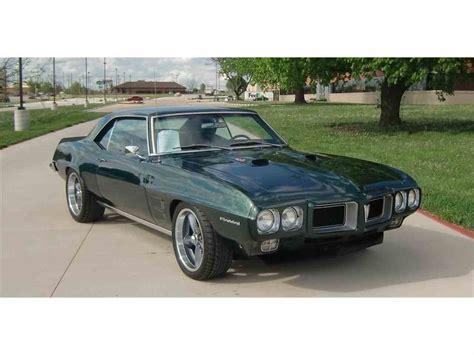 automobile air conditioning repair 1969 pontiac firebird parking system 1969 pontiac firebird for sale classiccars com cc 1049584