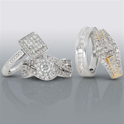 Turid's blog: The engagement rings and wedding bands are
