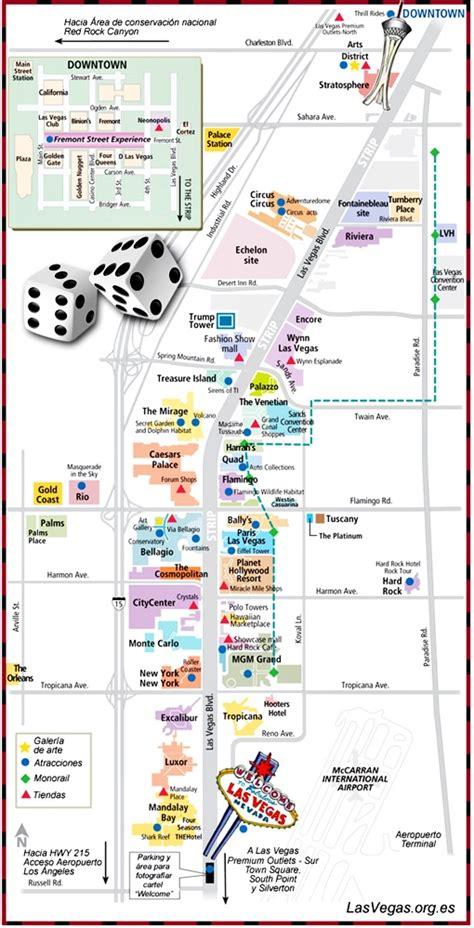hotel layout on the las vegas strip el strip de las vegas rodando por el mundo