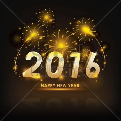 new year 2016 when is it happy new year 2016 vector image 1530521 stockunlimited